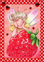 Strawfairy - ACEO 129 by Arthay