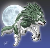 Wolf Link by SheltieWolf
