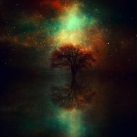 magical tree II by BaxiaArt