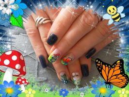 Spring Nail Art by elegance2255