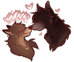 NicholasxEvan:Nose To Nose of loveeerrrr~ by Dream-Yaoi