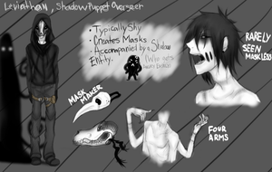 Leviathan Character Sheet by UndeadPuppeteer