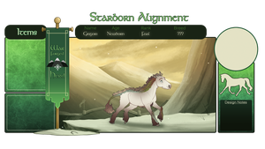 SA | Grigori | He/They | War-Forged | Foal by queerly