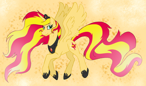 Alicorn Sunset Shimmer by catlover1672