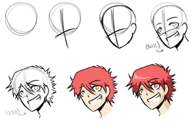 How i draw anime step-by-step by ABD-illustrates