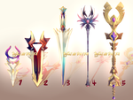 Auction : Weapon Adopt Set 24 [CLOSED] by HyRei