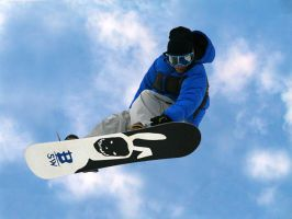 snowboarding by demi2004