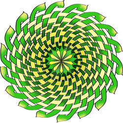 Celtic Knot Spinning Wheel by LorraineKelly