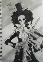 365 day drawing challenge day 23 Brook by TomatoStyles
