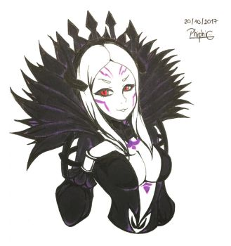 [DailyFanart] 20/10/17: Aversa by PhiphiAuThon