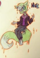 TRADITIONAL COMMISSION: Nick by HueGhost