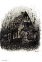 .: The Haunted House :. by AmbergrisElement