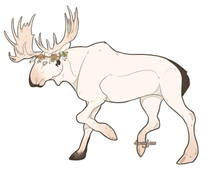 Moose. by jamm3rs