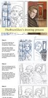 Tutorial: My drawing process by TheBrassGlass