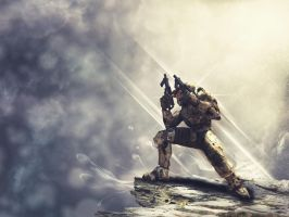 Master Chief by Buxtheone