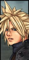 Cloud Strife by midknightBLU