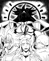 Aporia: Embodiment of Despair by chickenMASK