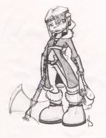 Astrid Winter Gear sketch by LittleTiger488