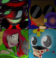 Some more Villianous by Psycie