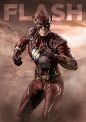 Injustice Flash by Progenitor89