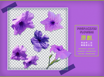 PngPack #28 flowers by ahui1107 by ahui1107