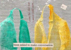 to make conversation by KatDiestel