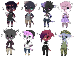 Chibi Bird Auction Adopts | Closed by Prince-Adrian