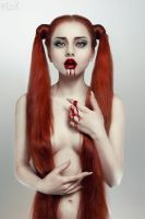 Bleeding Beauty: Hunger by FlexDreams