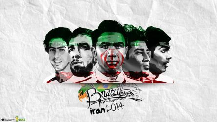 Team Meli | Iran National Team by zinodesign