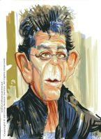 Lou Reed by nelsonsantos