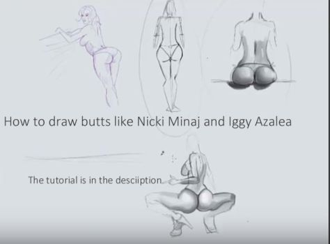 How to draw large butts by discipleneil777