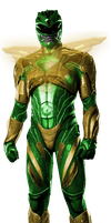 Green Power Ranger (2017 Style) by TheGlassEmperor