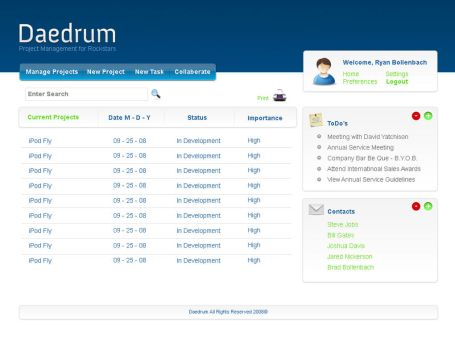 Daedrum - Project Management by Bollenbach
