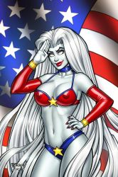 Lady Death Independence Naughty Cover by BillMcKay