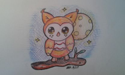 Owl by TheMashedCat
