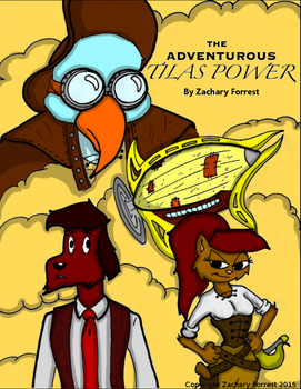 The Adventurous Tilas Power - Colored Cover by ZDForrest