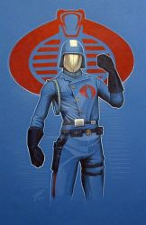 Cobra Commander by GabeFarber