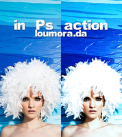 blueaction_ by lou-mora