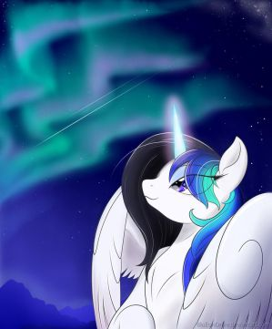The Harbringer of Wishes by BluDraconoid