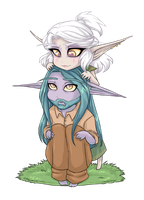 Syl and Tell by myre