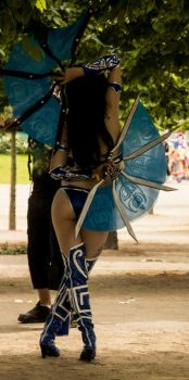 :. The Back Of Kitana .: by EscapedAngel