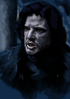 Jon Snow by UltimateHurl