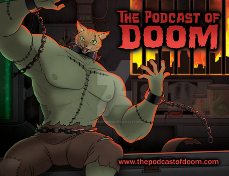 The Podcast of Doom Postcard by DaneBainbridge