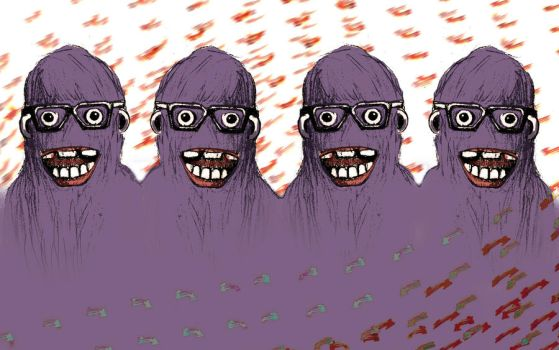 monsters with glasses by MyEkimoFriends