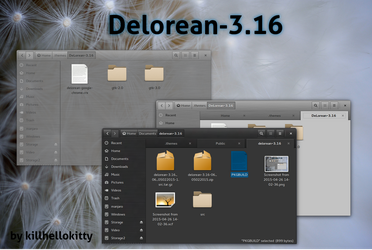 DeLorean-3.16 and DeLorean-Dark-3.16 revision 14 by killhellokitty