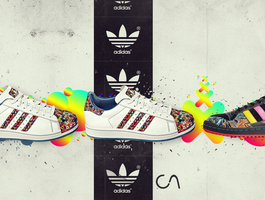 Adidas - love the old school. by cassi94