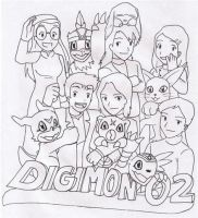Adult Digidestined Group by Dreamgirl2007