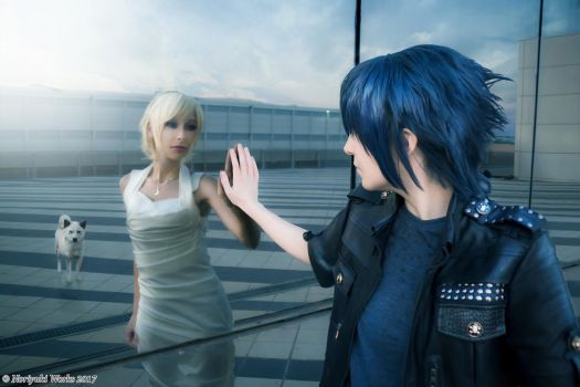 FFXV (Romics2017) Lunafreya and Noctis 02 by Noriyuki83