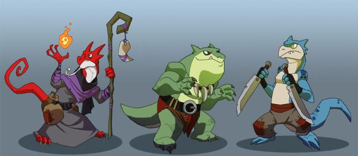 Kobolds by chief-orc