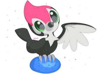 Shiny Pikipek by Willow-Pendragon
